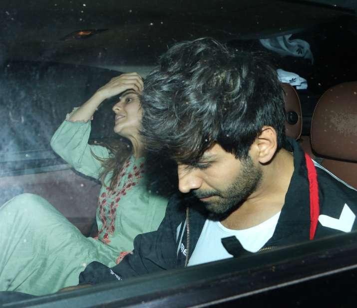 India Tv - Sara Ali Khan spotted after Love Aaj Kal 2 shoot