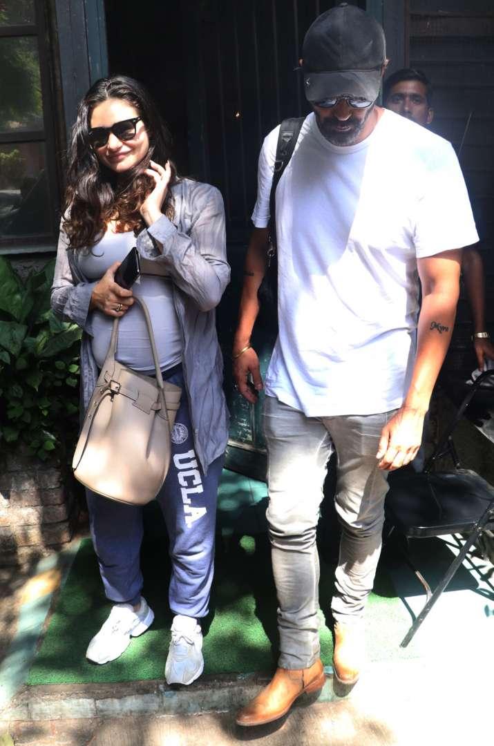 India Tv - Arjun Rampal withGabriella Demetriades