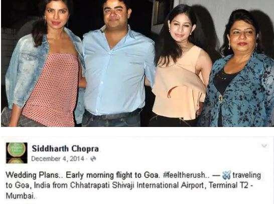 India Tv - Siddharth Chopra's post