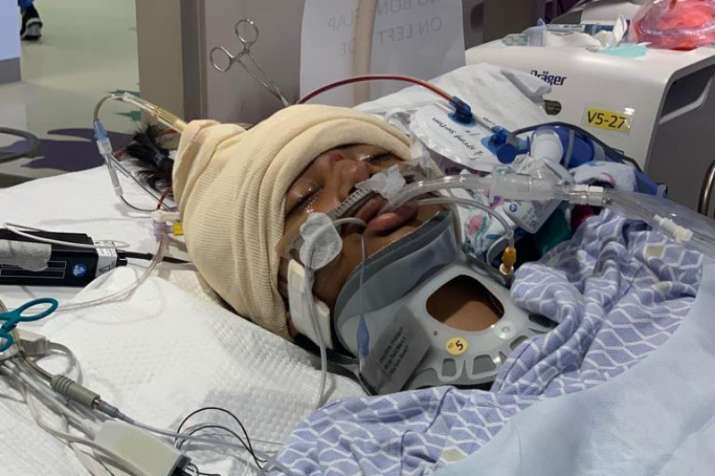 $600,000 raised for Indian-American girl struck by car in