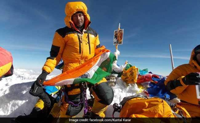 Kuntal Karar was one of the two climbers from Kolkata who