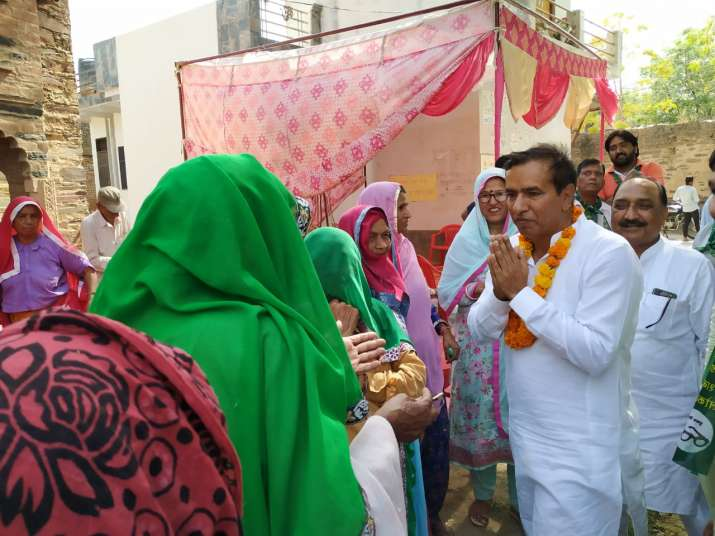 Indian National Lok Dal candidate Virender Rana
