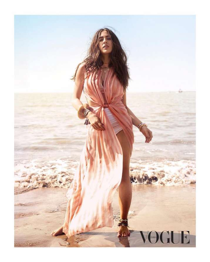 India Tv - Sara Ali Khan lost weight to mark her debut in Bollywood.
