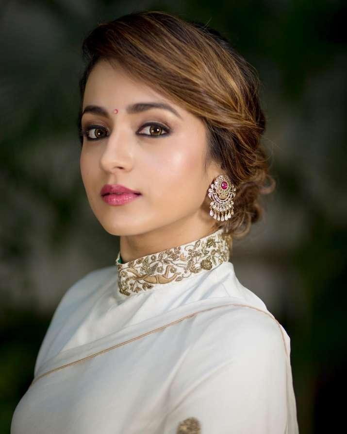 India Tv - Trishna Krishnan in Saree