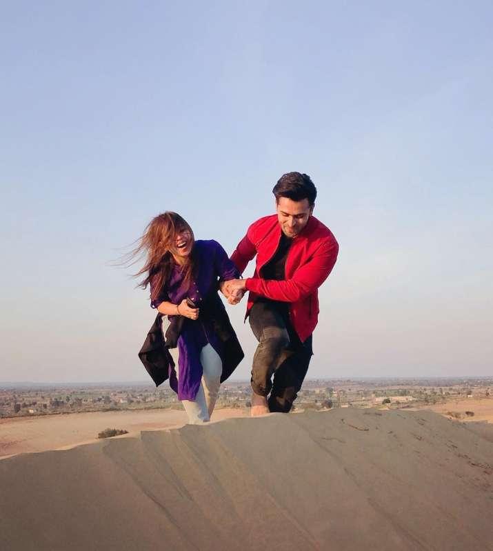 India Tv - Dipika Kakar with husband Shoaib Ibrahim on a vacation.