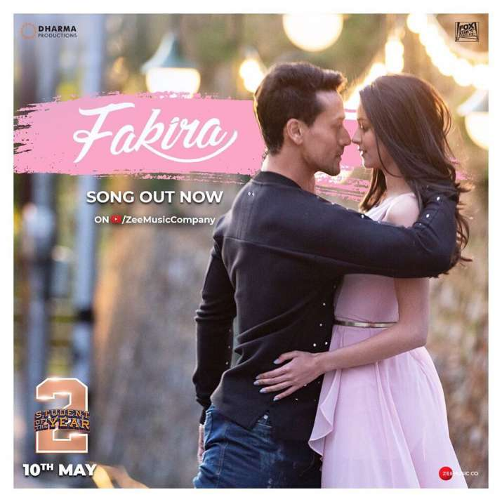 'Fakira' song marks the romantic and sufi song of the year- Student of the Year 2