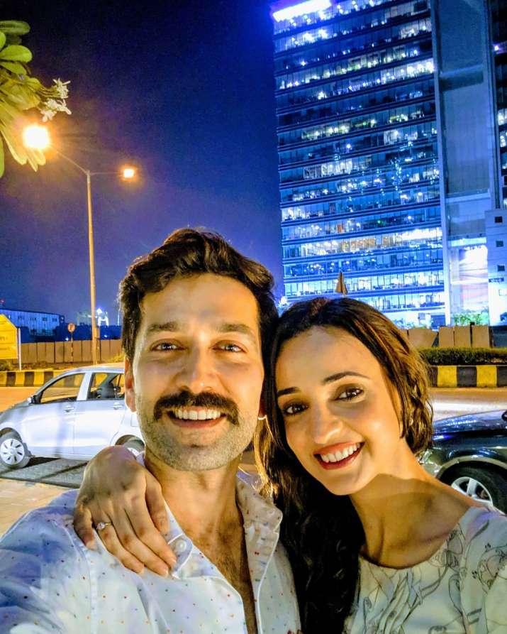 India Tv - Nakuul Mehta with Sanaya Irani