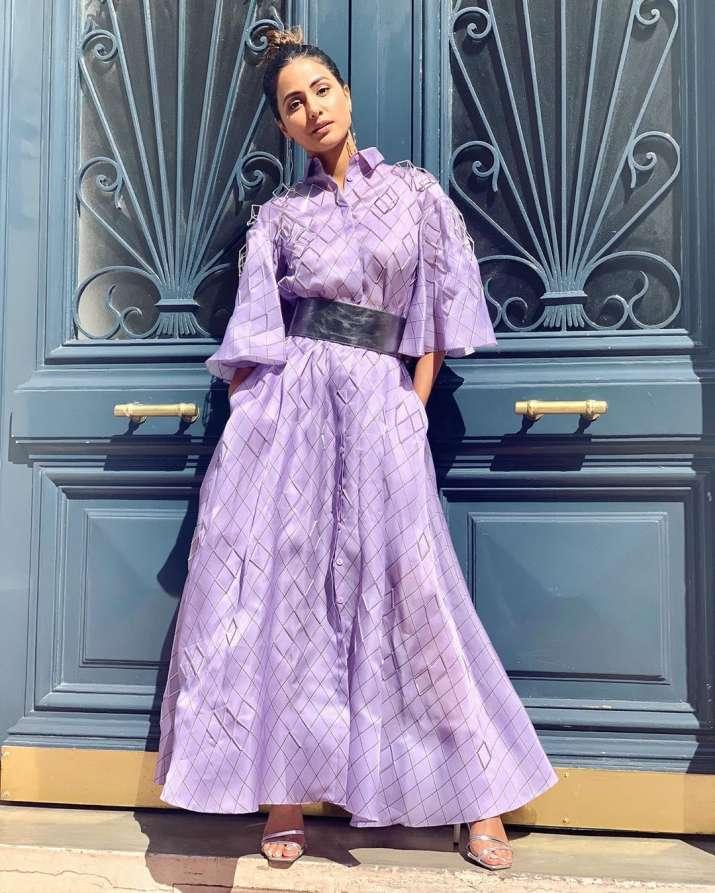 India Tv - Hina Khan at Cannes 2019 Day 3