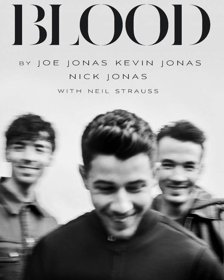 The Jonas Brothers to release memoir, Blood
