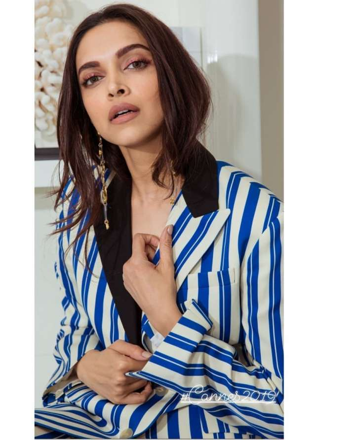 India Tv - Deepika Padukone looks breathtaking in her Day 2 look at Cannes 2019.