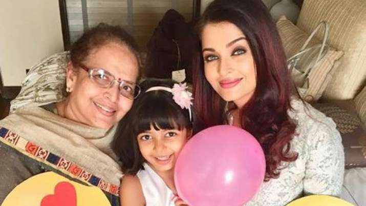 Aishwarya Rai Bachchan mothers day
