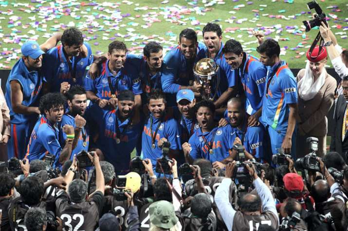 India Tv - India won their second 50-over World Cup in 2011