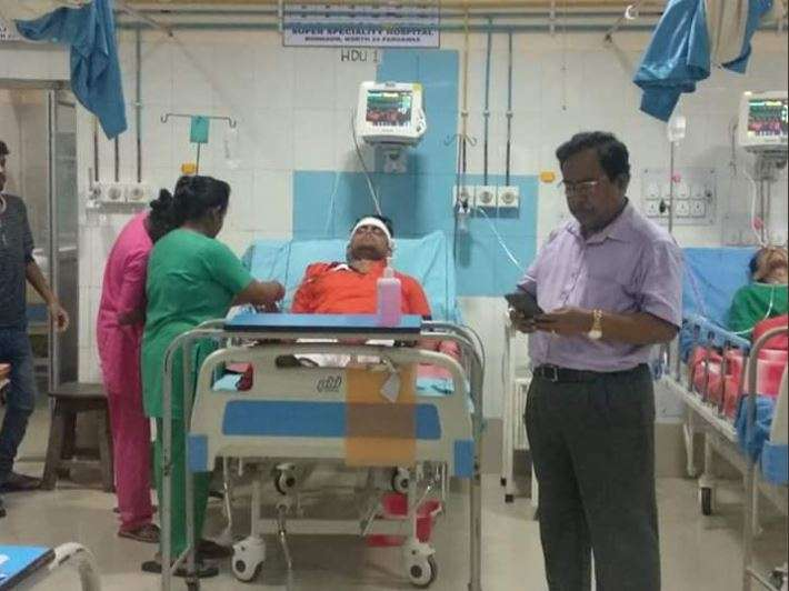 Shantanu Thakur's vehicle meet with an accident near