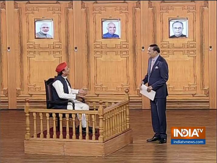 Akhilesh Yadav in Aap Ki Adalat: 'Mahagathbandhan will not