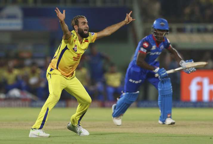 India Tv - Imran Tahir is only one wicket away from being the leading wicket-taker of the tournament this season.