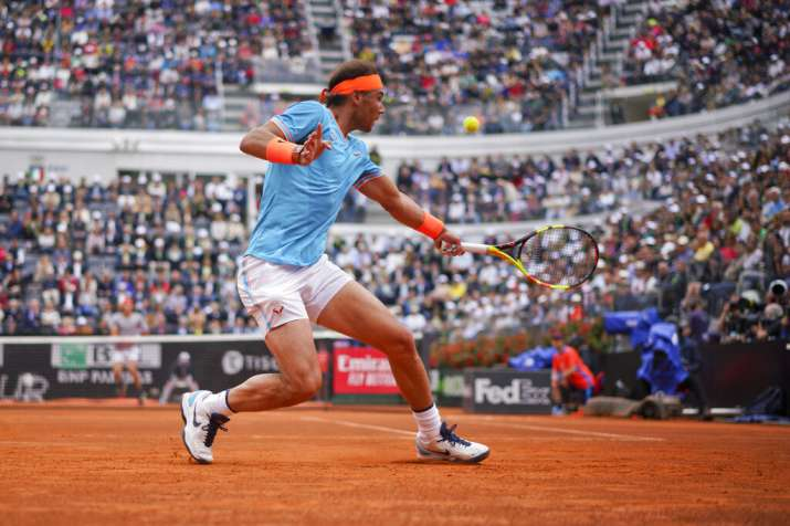 Italian Open: Rafael Nadal beats Stefanos Tsitsipas to enter final