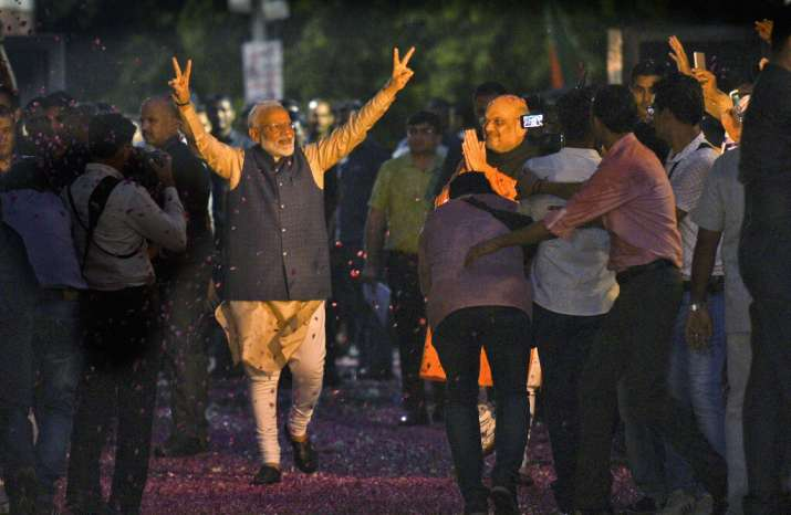 BJP bagged more seats in UP than congress did in all of