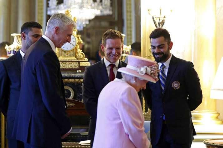 Virat Kohli Queen Elizabeth