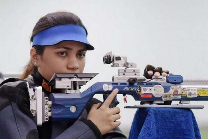 Apurvi Chandela is world number one in 10m air rifle, Anjum Moudgil claims second position