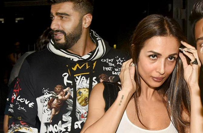 India Tv - Arjun Kapoor cleared rumors about the wedding with Malaika