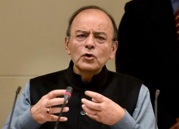 Finance Minister Arun jaitely