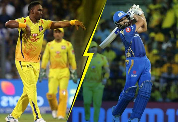 India Tv - Dwayne Bravo can cause significant trouble to the MI skipper.