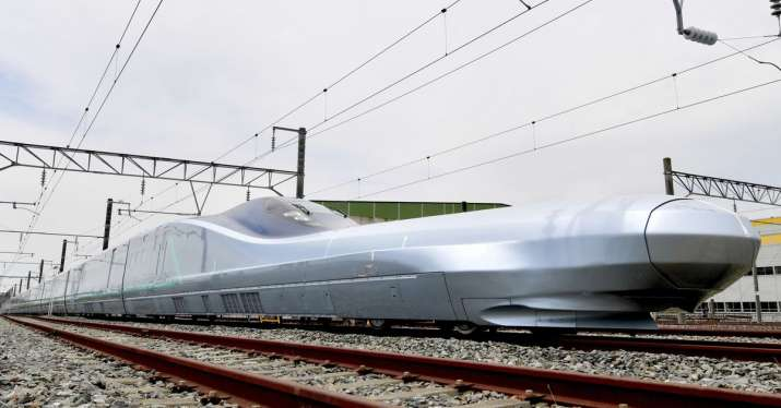 The new bullet train will have air brakes on the roof and