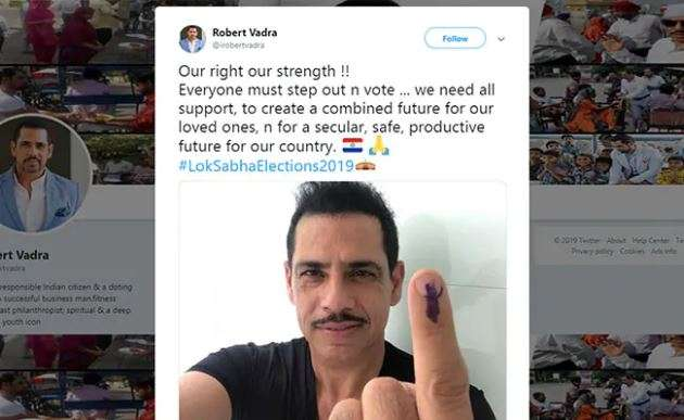 India Tv - The tweet posted by Robert Vadra, before it was deleted.