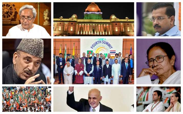 PM Modi Swearing-In: List of all the High-Profile guests