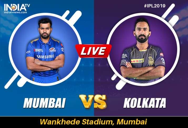 Live Cricket Streaming, MI vs KKR, IPL: Watch Live Match Mumbai Indians vs Kolkata Knight Riders Onl