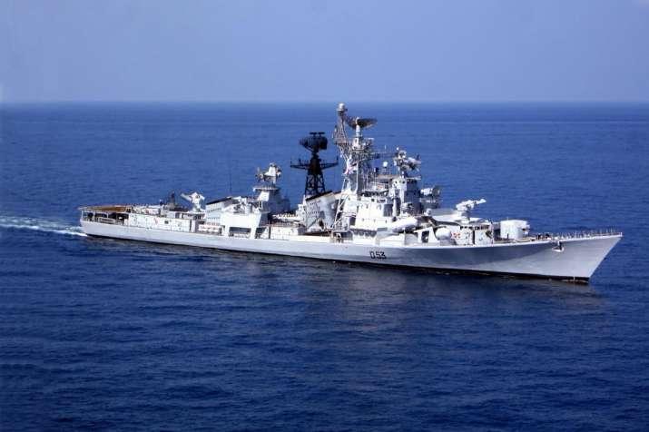 INS Ranjit, Indian Navy's frontline missile destroyer, to