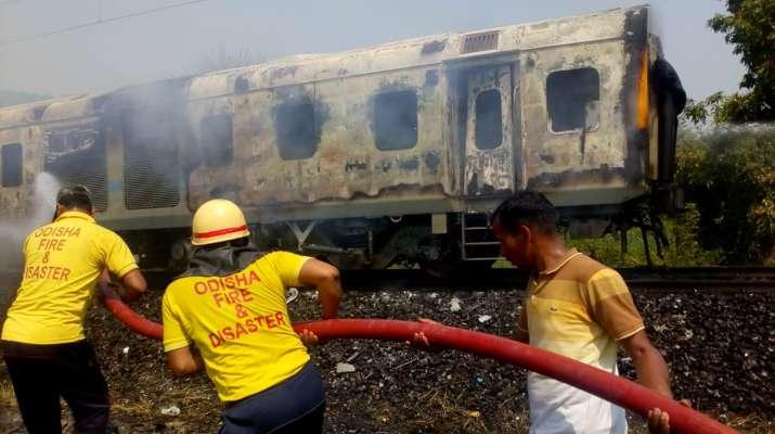 Fire breaks out in New Delhi-Bhubaneswar Rajdhani Express