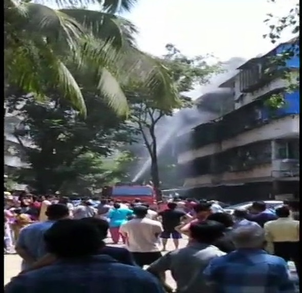 Fire broke out in the premises of Dadar Police station