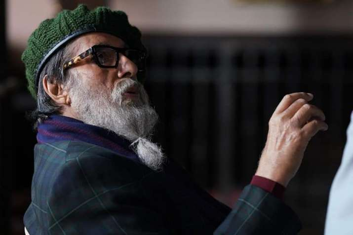 India Tv - Amitabh Bachchan shares his first look from film Chehre