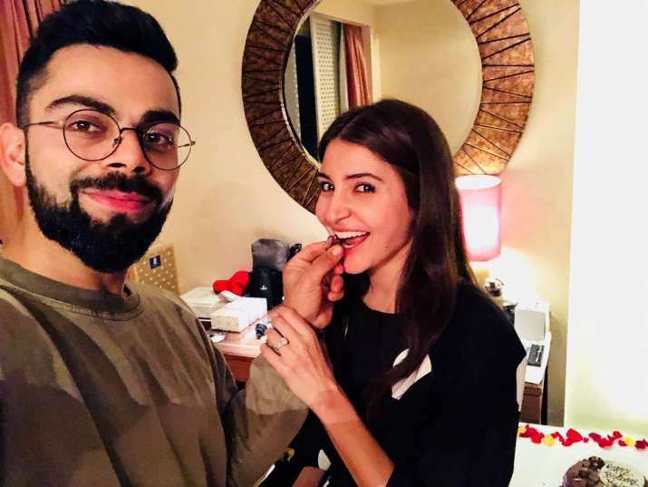 India Tv - Anushka Sharma's birthday celebrations in 2018
