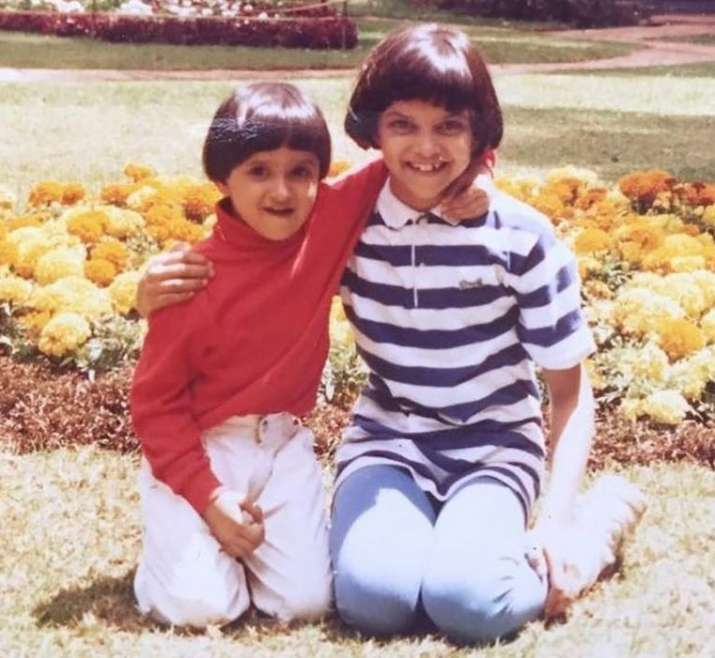 India Tv - Can you spot your superstars in their childhood photos? 10 UNSEEN cute pictures of Bollywood celebrities