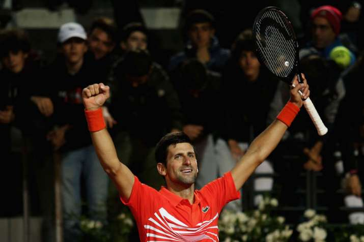 ATP Rankings: Novak Djokovic remains on top despite loss in Rome