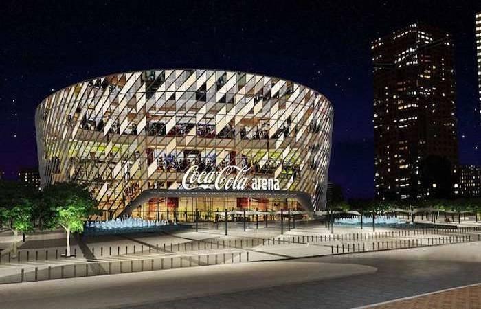 Coca-Cola Arena in Dubai