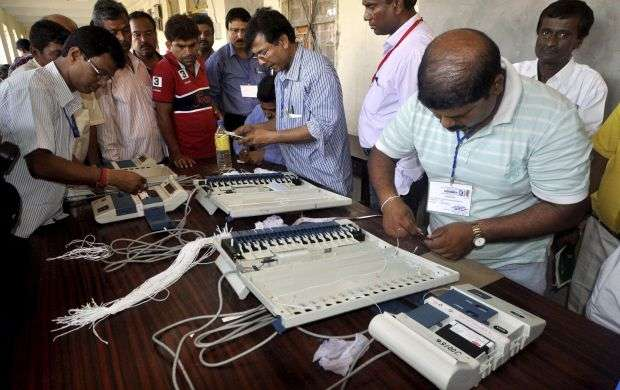 EVMs to be stored in 90 strong rooms