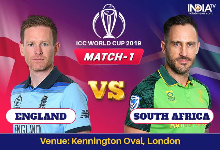 England vs South Africa, World Cup 2019 Match 1: Watch ENG vs SA on Hotstar Cricket, Star Sports 1