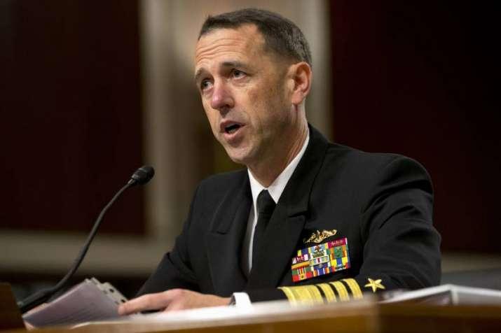 US Navy Chief Admiral John M. Richardson