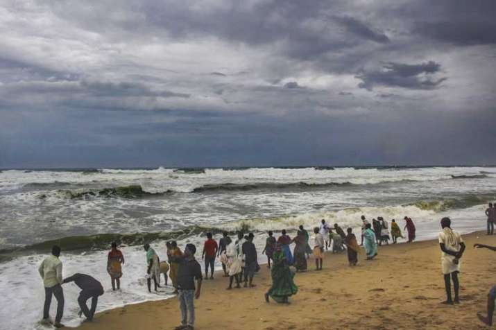 Furious winds, heavy rains hit Odisha's Puri, villages submerged