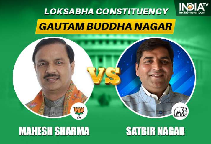 Gautam Buddh Nagar Lok Sabha seat: Mahesh Sharma of BJP