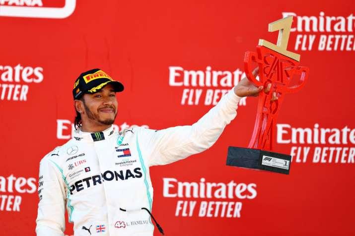 Lewis Hamilton beats Valtteri Bottas at Spanish GP for 5th Mercedes 1-2