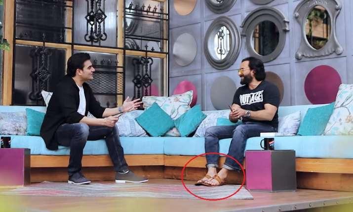 India Tv - Saif Ali Khan on Arbaaz Khan's chat show