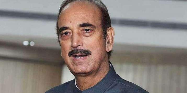 Senior Congress leader, Ghulam Nabi Azad