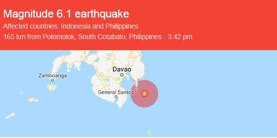 India Tv - Breaking: 6.1 magnitude earthquake hits Philippines
