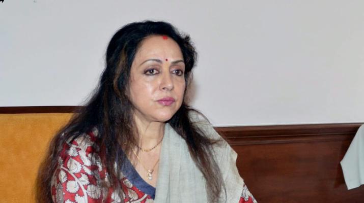 The BJP's Hema Malini (with Rs 250 crore) from Mathura