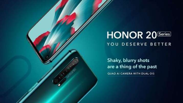 Honor 20 and Honor 20 Pro with punch-hole display and Quad-camera launched