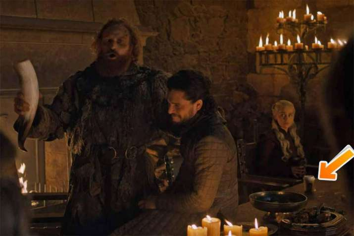 India Tv - Game Of Thrones makers forget plastic water bottle in the finale episode